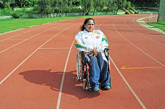 Sports helps differently abled people